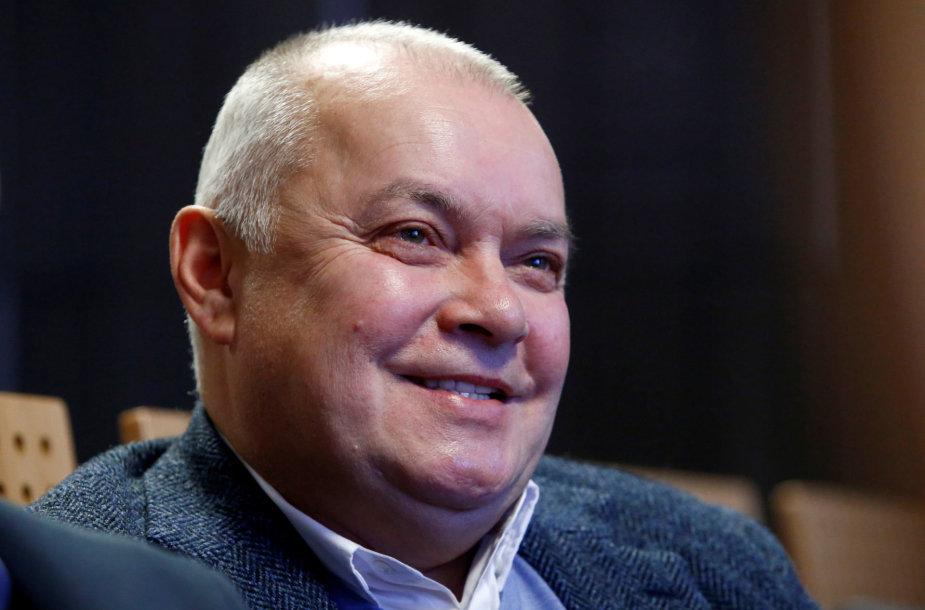 Kremliaus propagandininkas Dmitrijus Kiseliovas