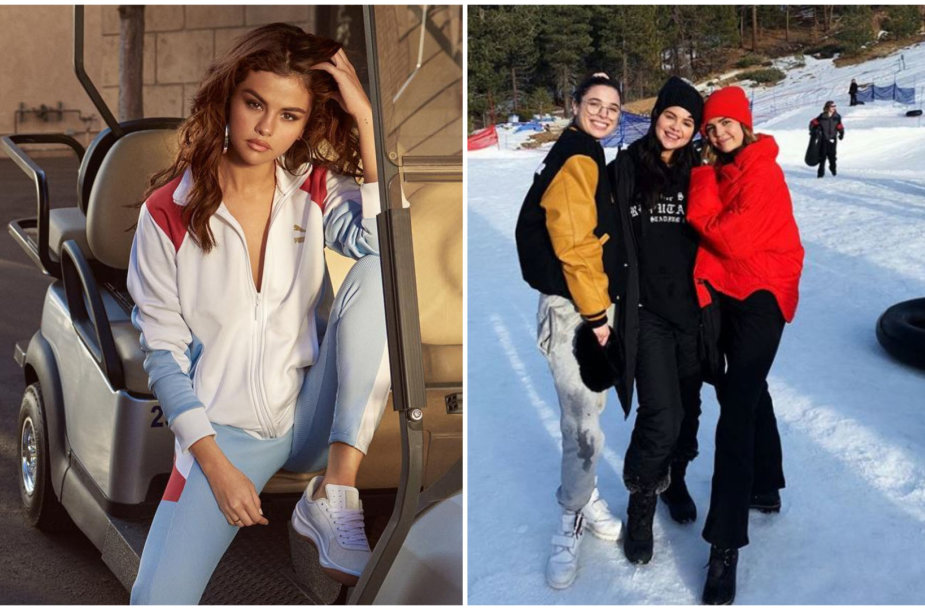 Selena Gomez su draugėmis Connar Franklin ir Bailee Madison