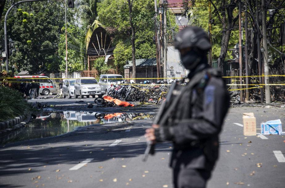 Policininkas Indonezijoje