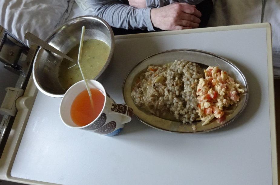 Maistas Onuškio palaikomojo gydymo ir slaugos ligoninėje