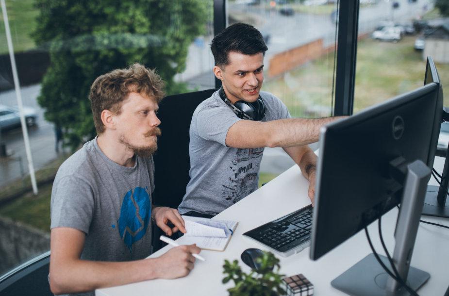 Programuotojų darbas