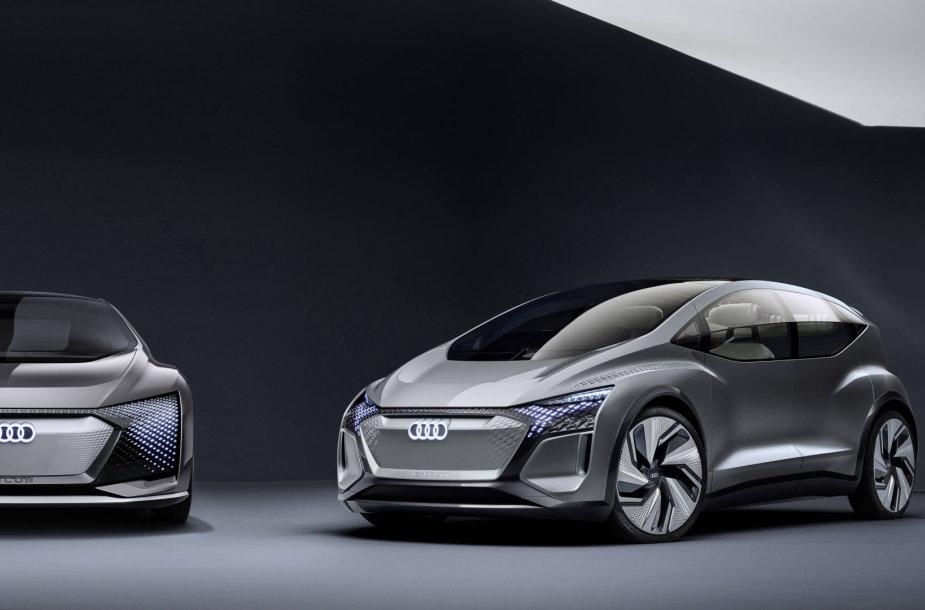Koncepcinis elektromobilis Audi AI:ME