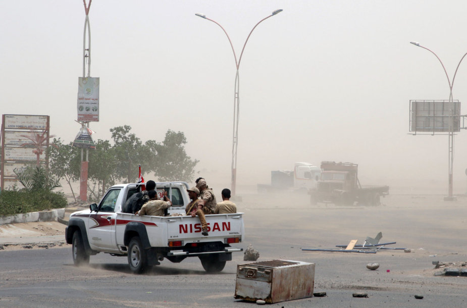 Sukilėliai Adene