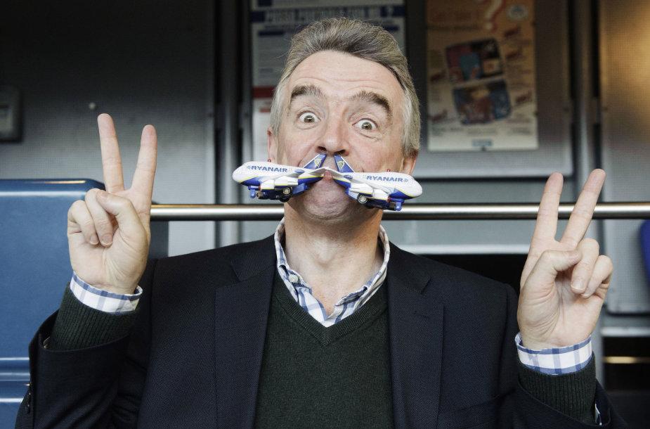 """Ryanair"" generalinis direktorius Michaelis O'Leary"