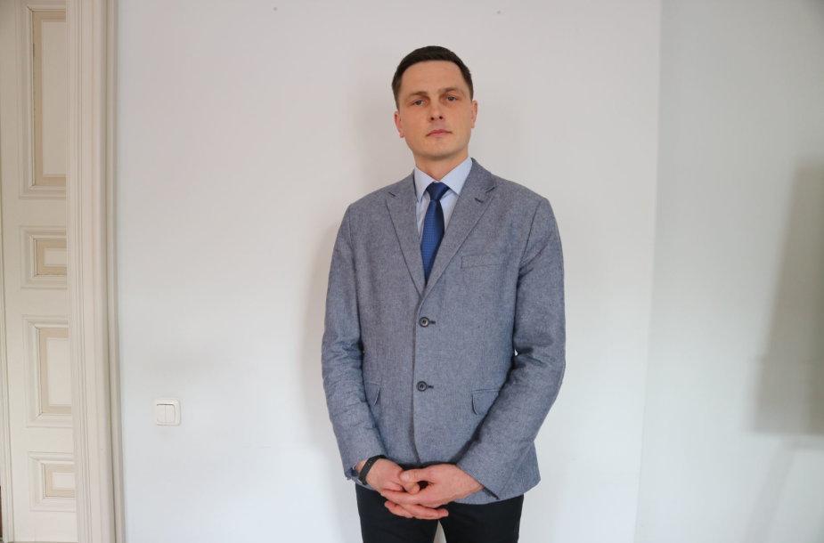 Kauno IX forto muziejaus vadovas Marius Pečiulis