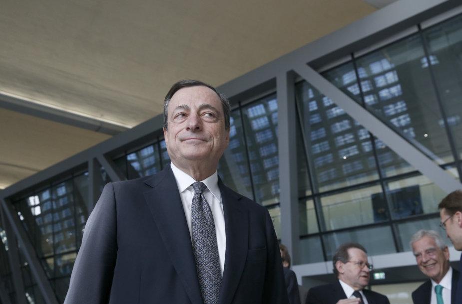 ECB vadovas Mario Draghi
