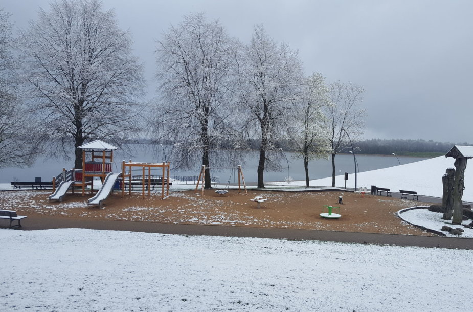 Žiema Telšiuose