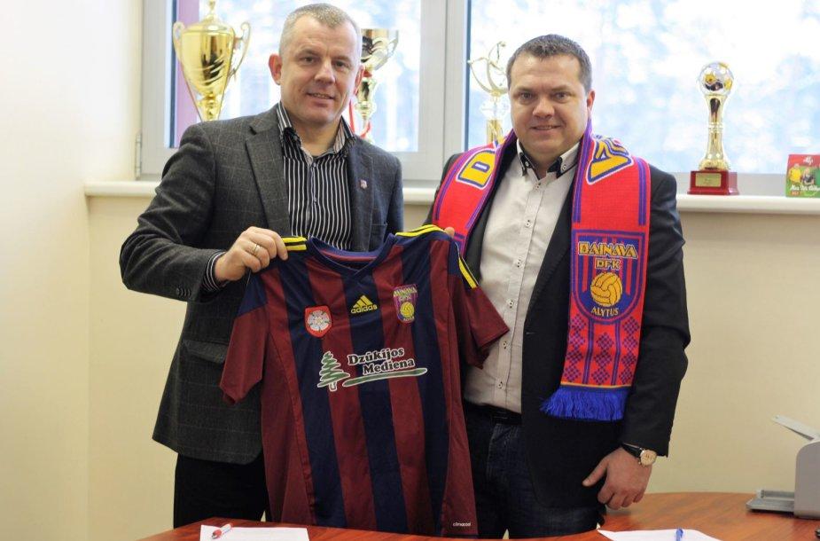Donatas Vencevičius (dešinėje)