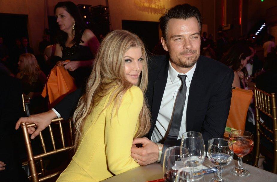Fergie ir Joshas Duhamelis švenčia penktąsias santuokos metines