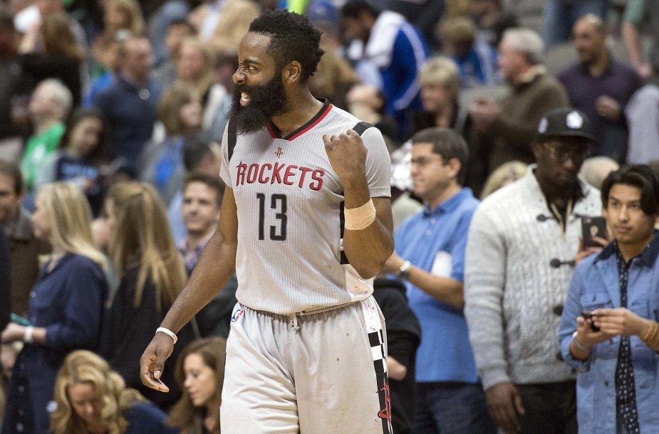 Houston Rockets ir Dallas Mavericks rugntynės