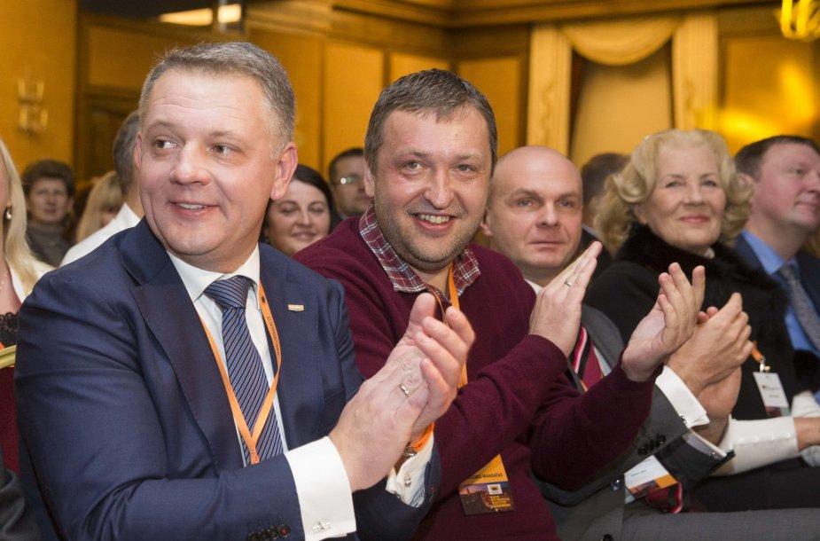 Eligijus Masiulis ir Antanas Guoga