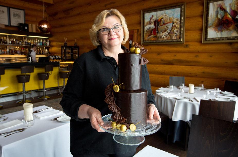 Danutės Skeberienės tortas Lietuvai