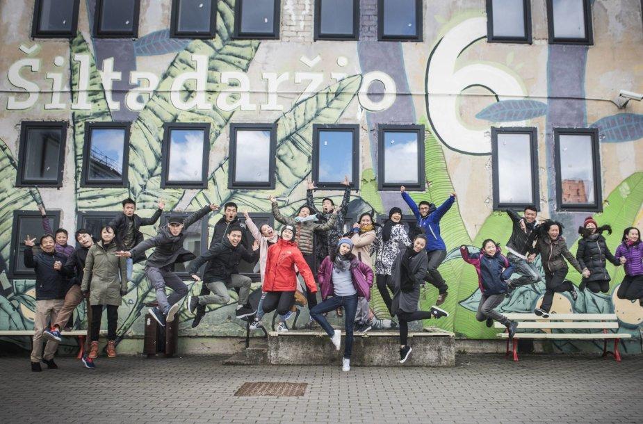 """Taivano """"Cloud Gate"""" šokio teatras Vilniuje"""