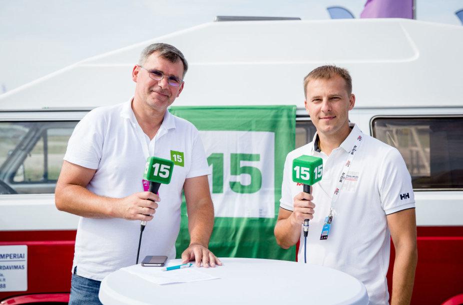Tiesioginėje 15min laidoje iš Palangos – lenktynininkų treneris Mindaugas Pocius