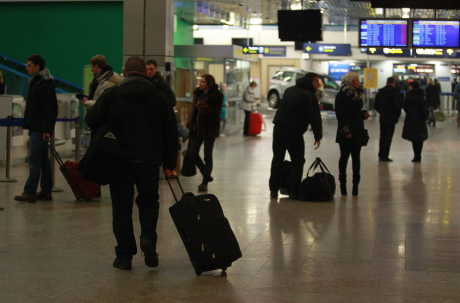 Keleiviai Vilniaus oro uoste