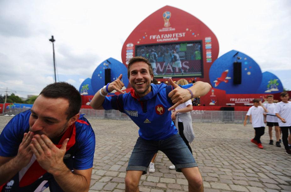 Kaliningradas pasitinka pasaulio futbolo pirmenybes