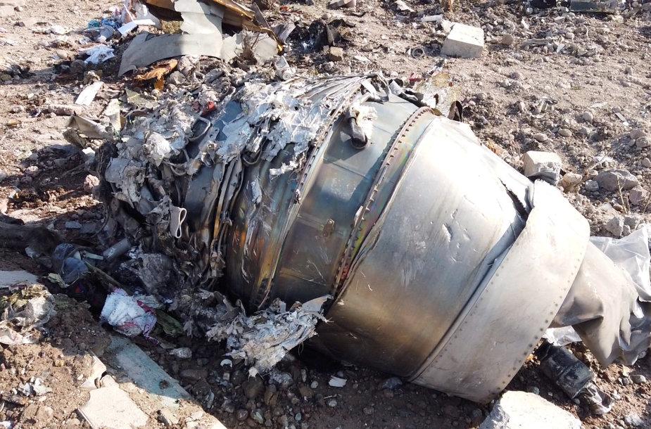 """Iranas numušė Ukrainos lėktuvą """"Boeing 737"""""""