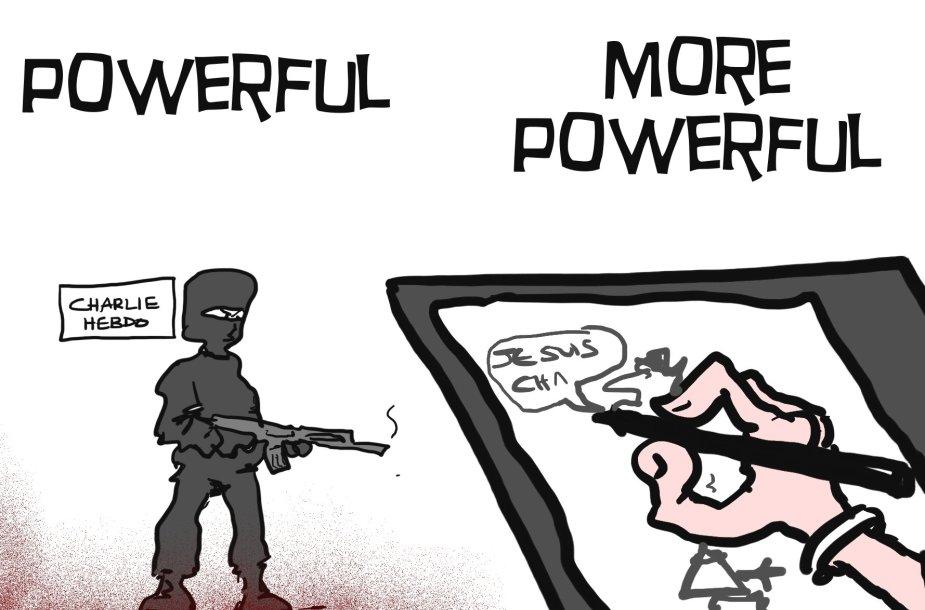 MacLeodo karikatūra