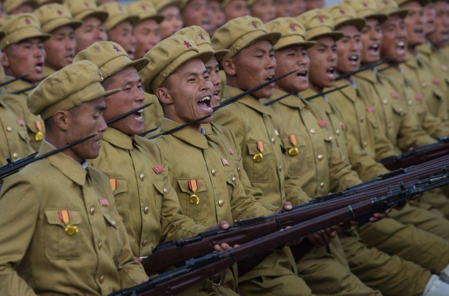 Valdančiosios partijos 70-ies metų jubiliejus Šiaurės Korėjoje