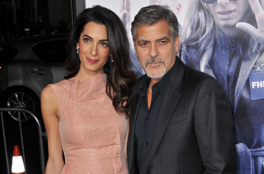 Amal ir George'as Clooney