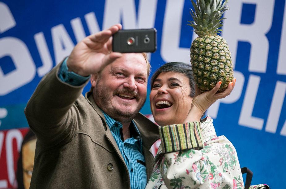 Vytas Palavinskas ir Nomeda Marčėnaitė