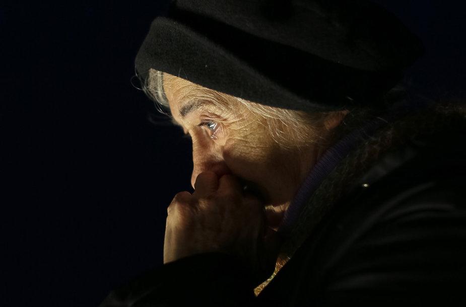Holodomoro aukų pagerbimas Kijeve, 2014 metais.