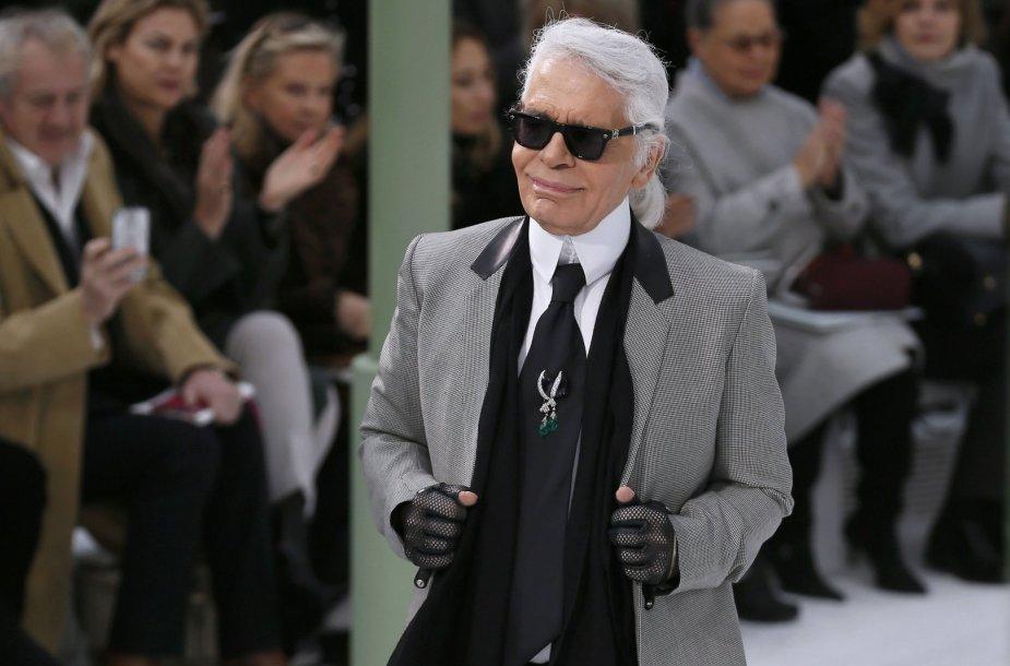 Dizaineris Karlas Lagerfeldas