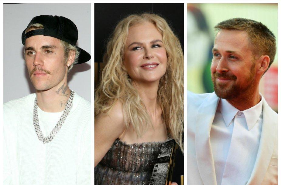 Nicole Kidman, Justinas Bieberis, Ryanas Goslingas