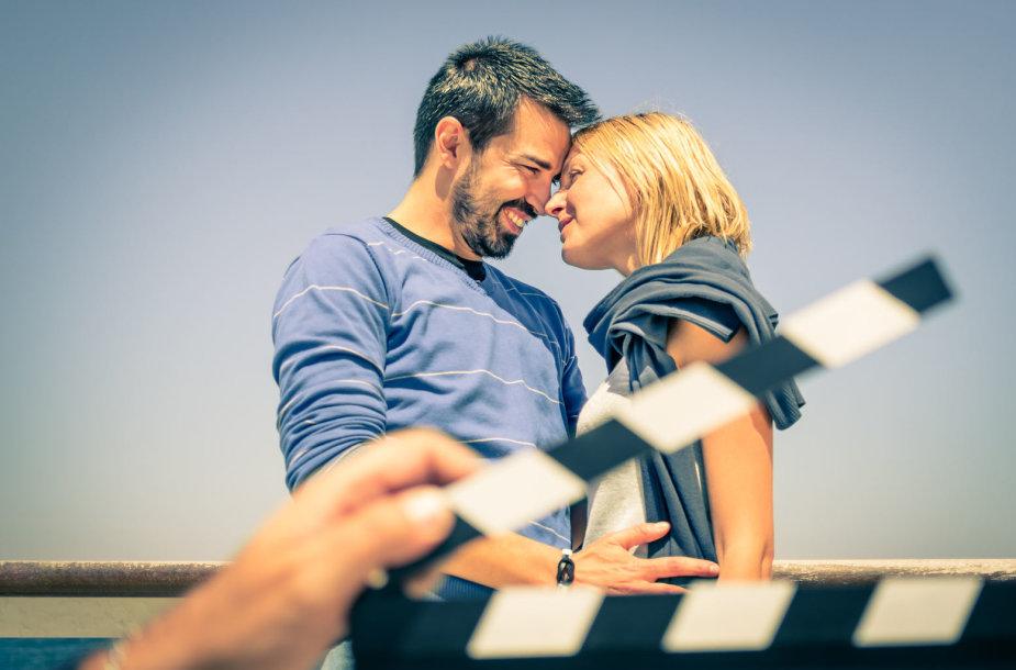 Romantiškai nusiteikusi pora