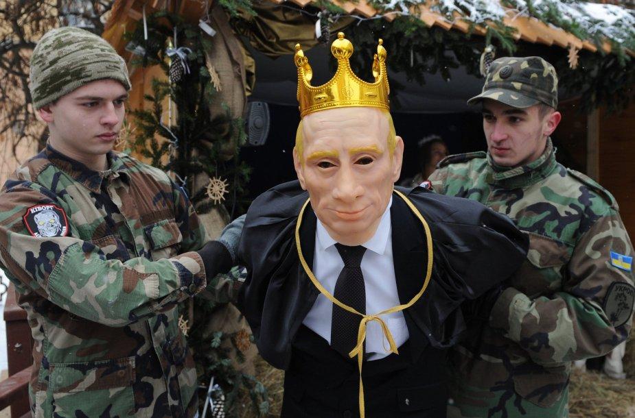 Karalius Erodas ukrainiečių Kalėdiniame vaidinime tapo Vladimiru Putinu