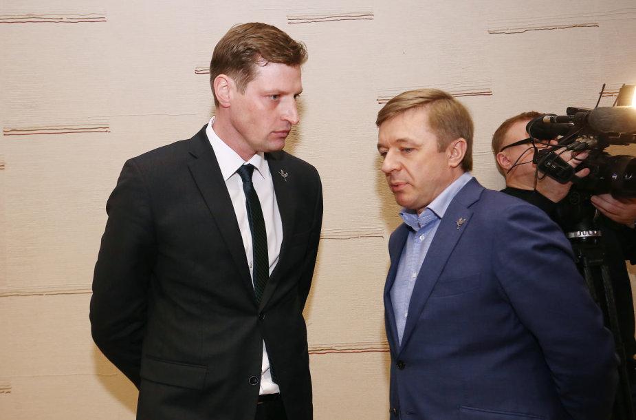 Lietuvos valstiečių ir žaliųjų sąjungos Tarybos posėdis