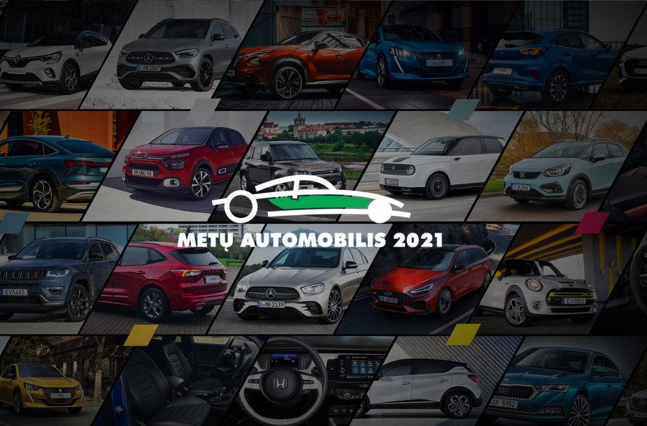 Balsuokite už Tautos automobilį 2021 m.