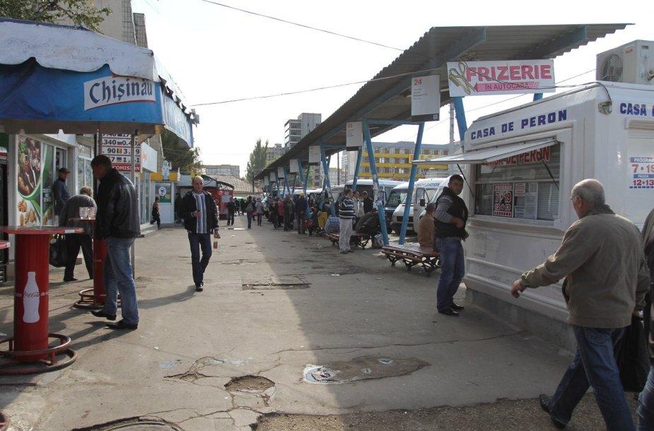 Kišiniovo autobusų stotis