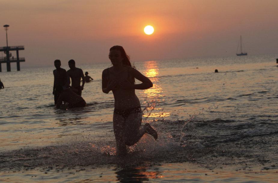 Paplūdimys Bulgarijoje