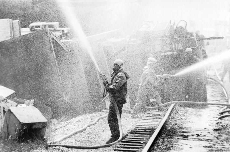 Černobylio avarijos padarinių likvidavimo darbai