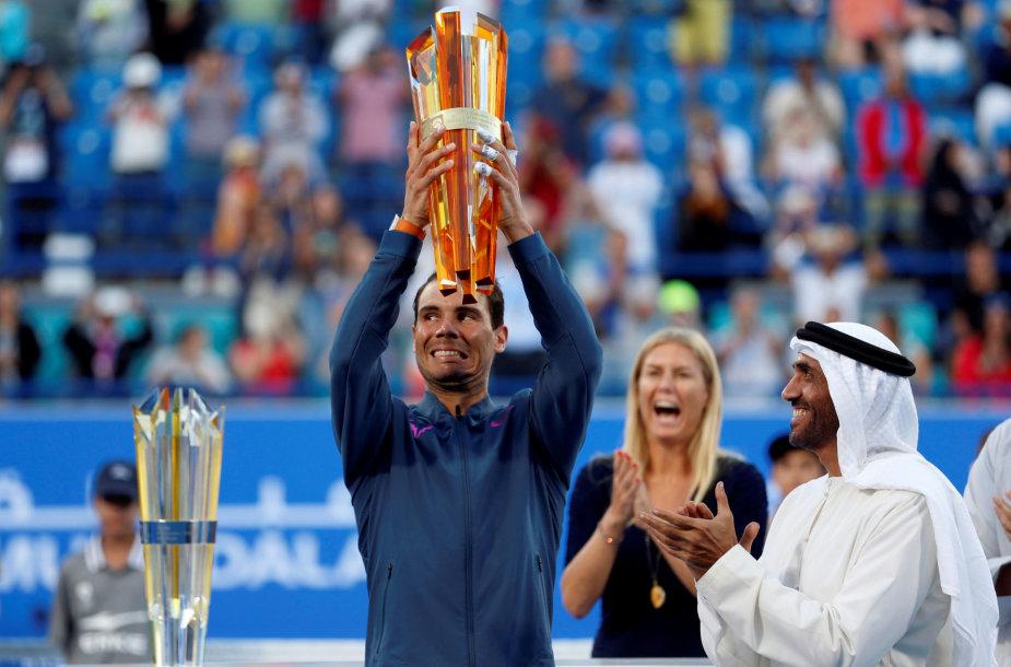 Rafaelis Nadalis paskutinį kartą turnyrą laimėjo 2016 metais