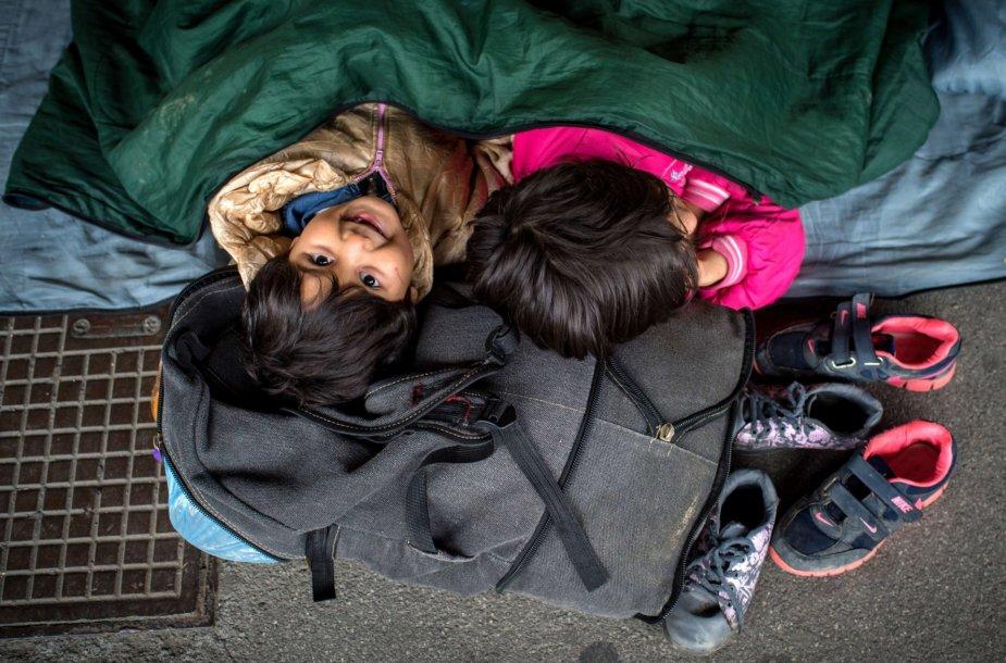 Kur papuola nakvojantys migrantai Europoje