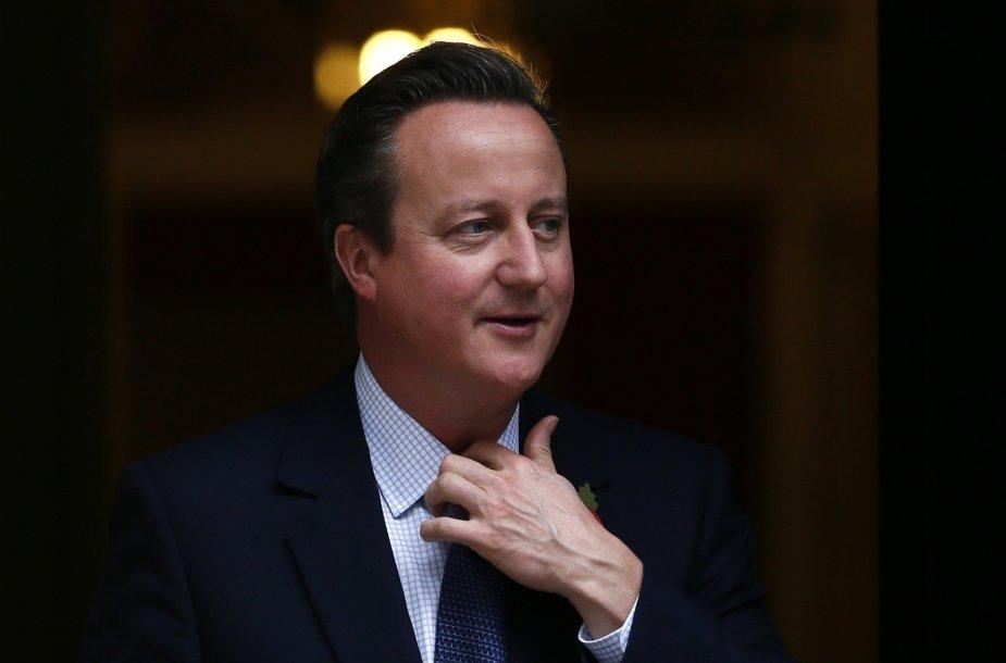 8. Didžiosios Britanijos premjeras Davidas Cameronas
