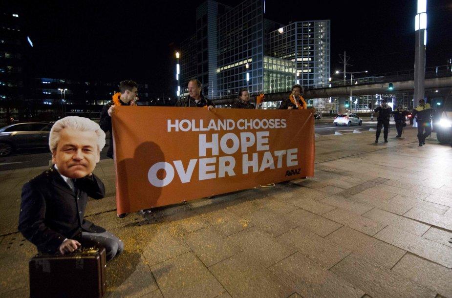 Rinkėjai Nyderlanduose