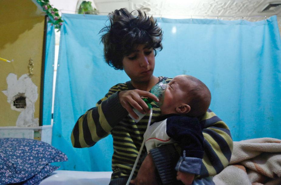 Sirijoje panaudotos chloro dujos