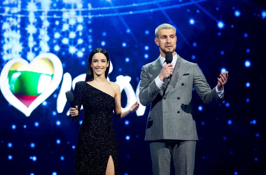 Ugnė Skonsmanaitė ir Mantas Stonkus