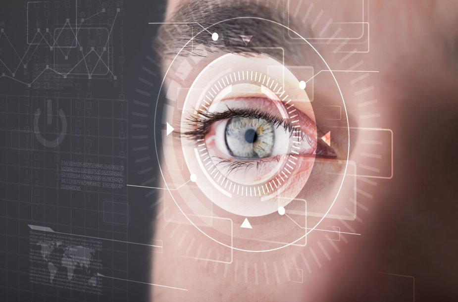 Darbas kompiuteriu vargina akis
