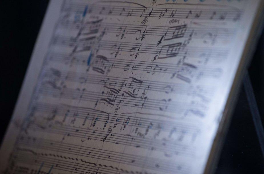 Gustavo Mahlerio simfonijos natų rinkinys