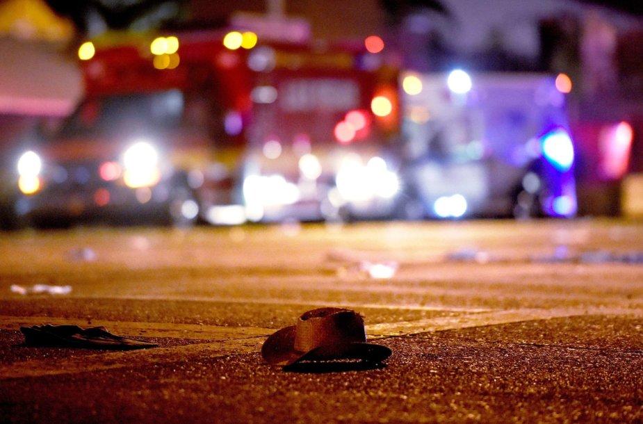 Las Vegase per išpuolį žuvo daugiau nei 50 žmonių