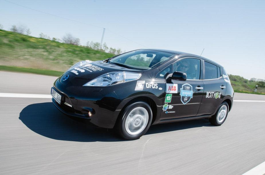 Antrosios elektromobilių lenktynės