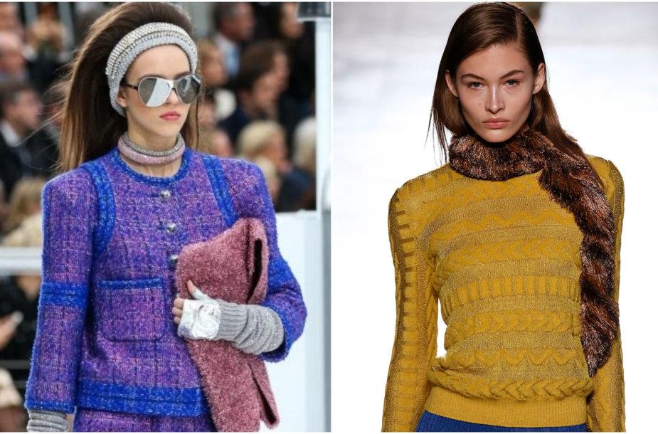 """""""Chanel"""" ir """"Missoni"""" 2017–2018 m. rudens ir žiemos kolekcijų modeliai"""