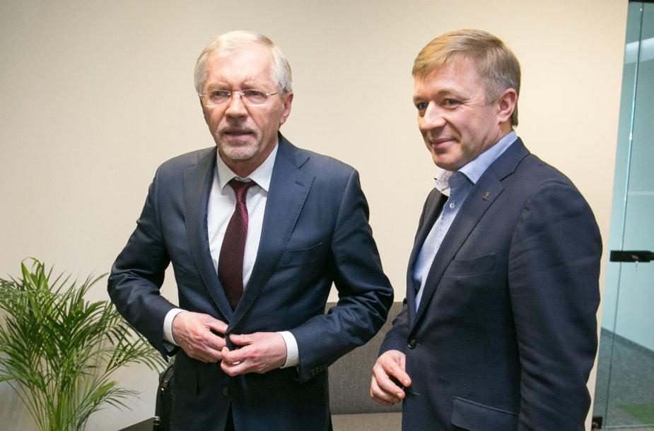 Ramūnas Karbauskis ir Gediminas Kirkilas