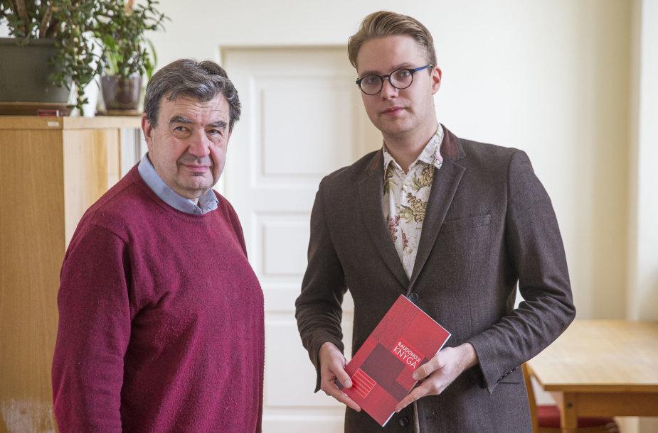 Vytautas Ališauskas ir Mantas Tamošaitis