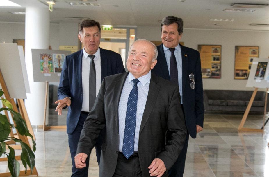 Vytautas Kamblevičius, Rimas Andrikis, Algirdas Butkevičius