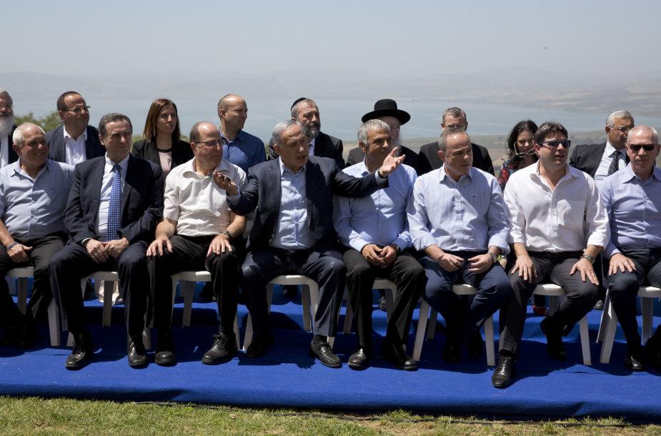 Izraelio vyriausybės posėdis Golano aukštumose
